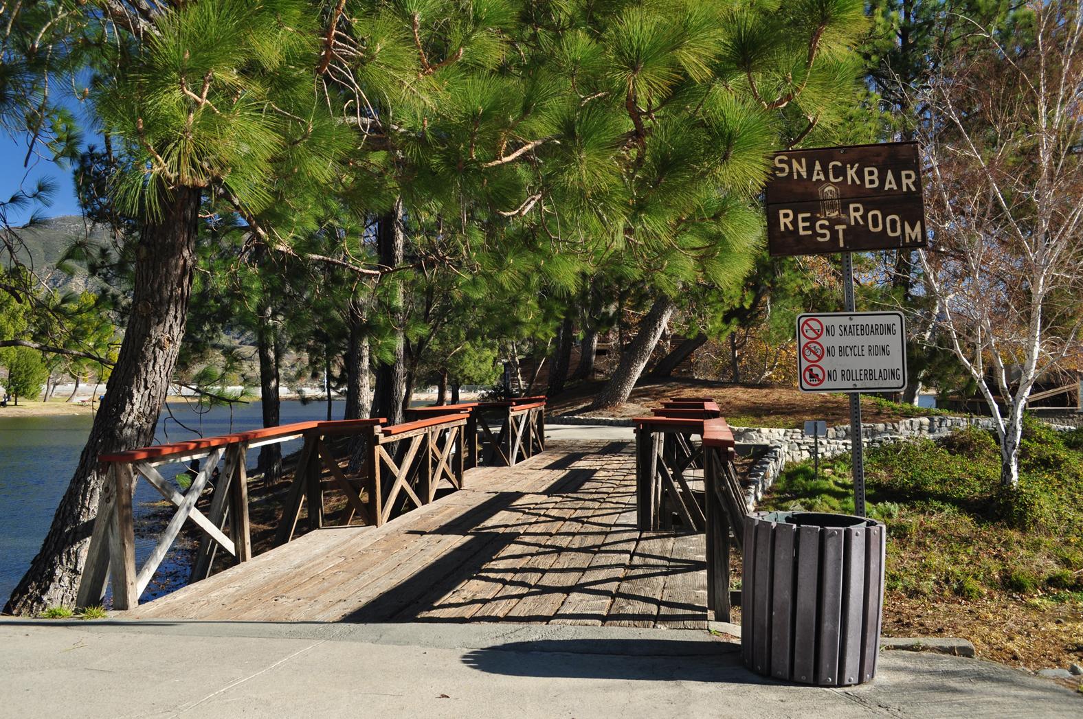 Bridge at Glen Helen