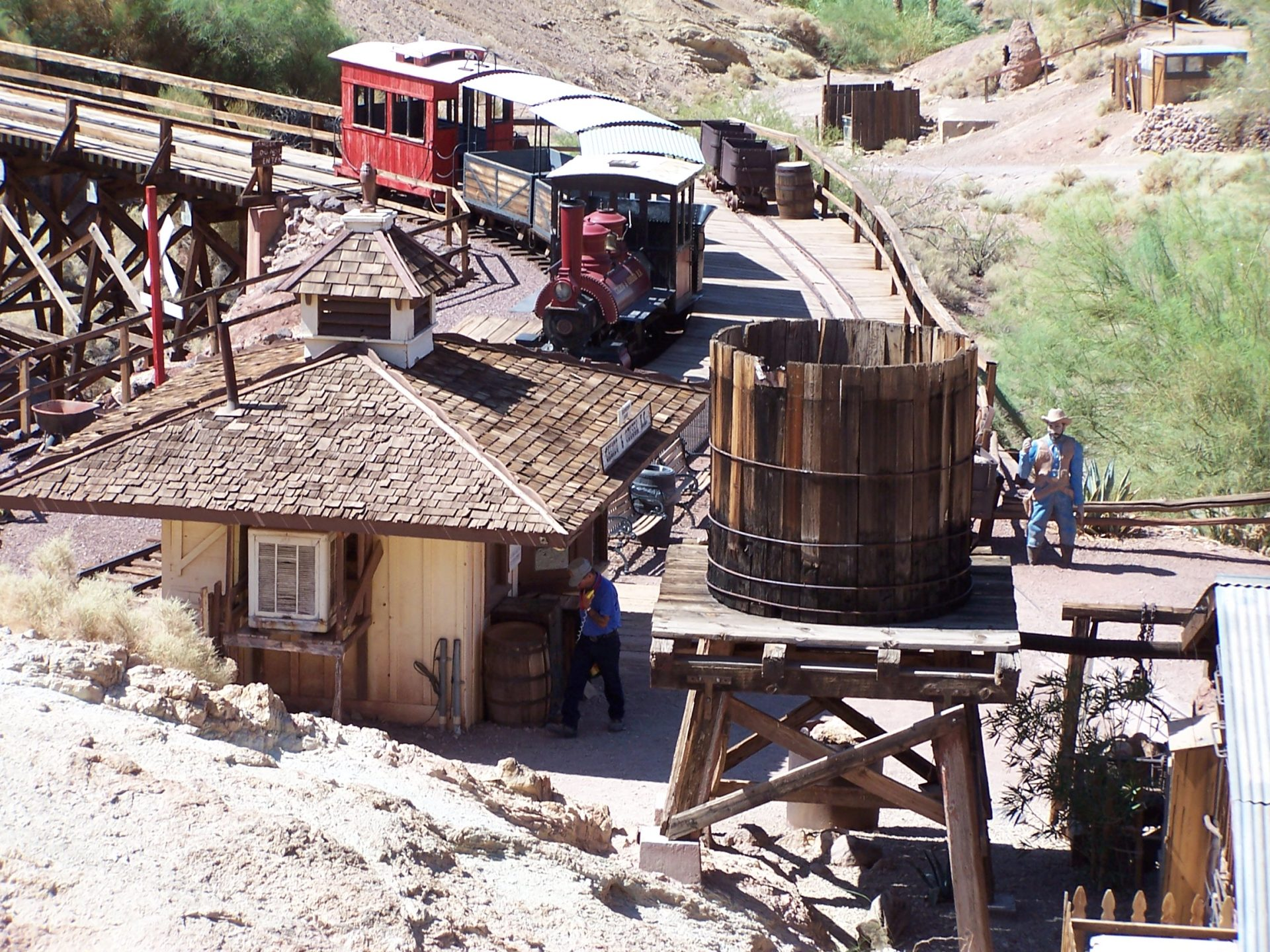 Train at Calico
