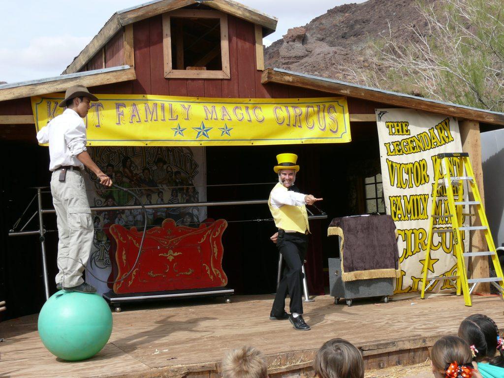 Family Magic Circus Performance
