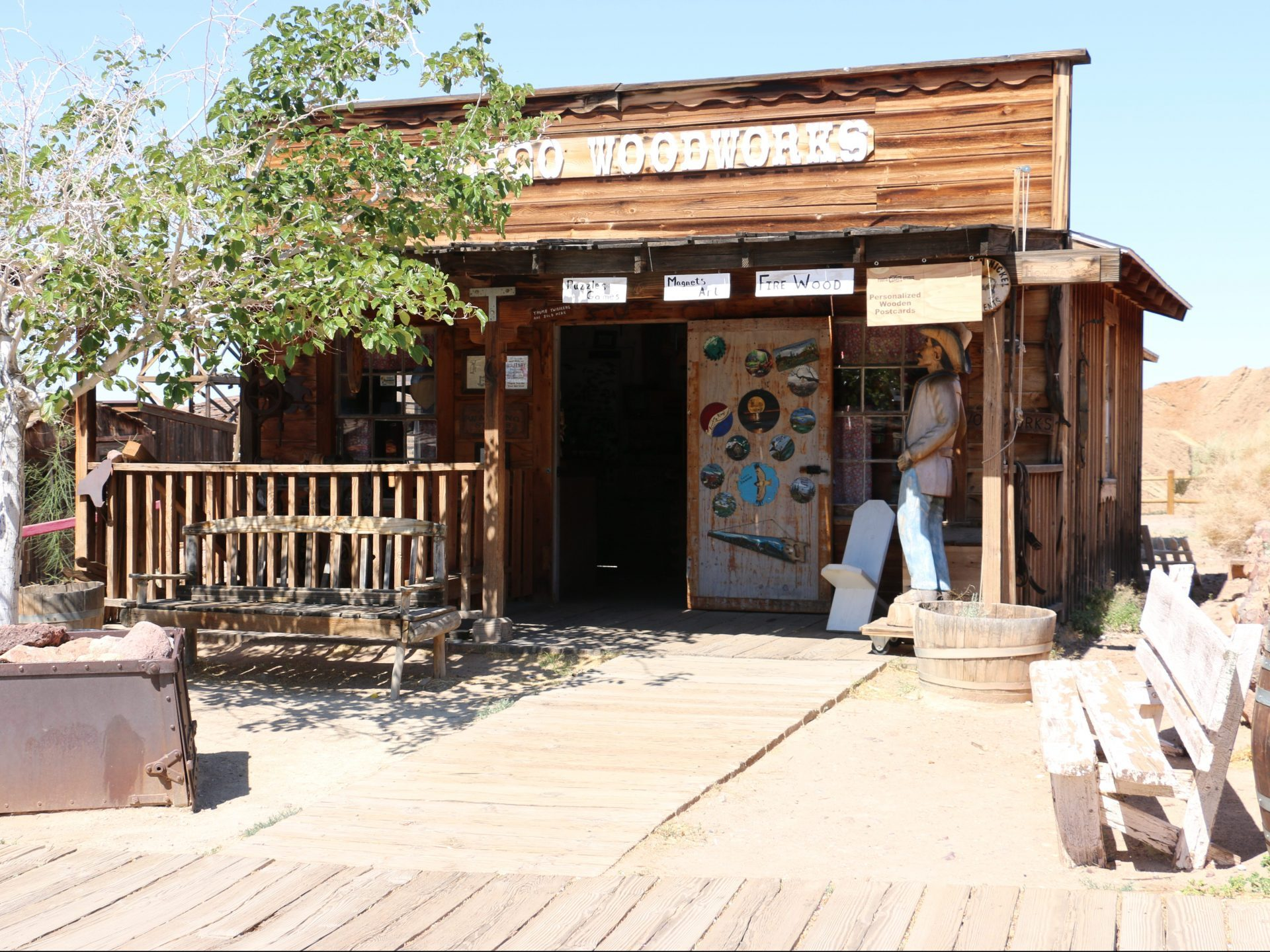 Calico Woodworks at Calico