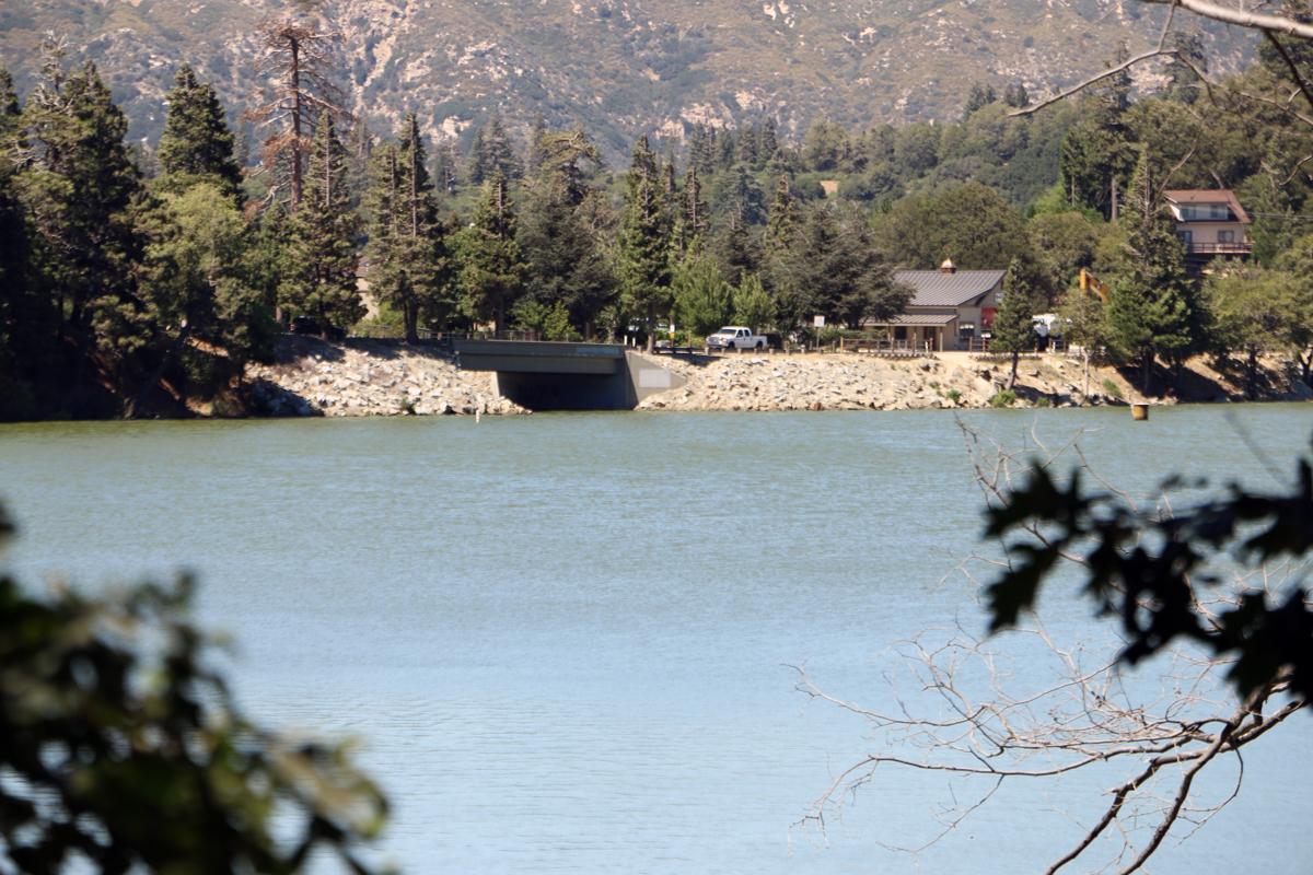 Lake Gregory Dam