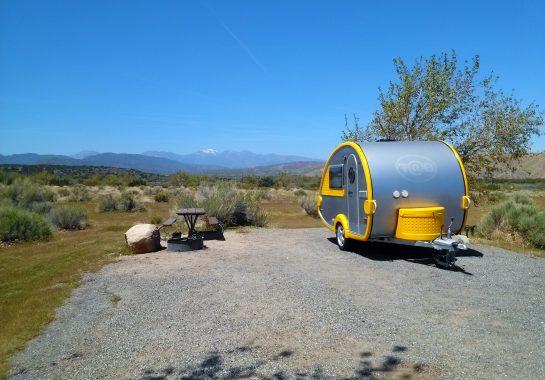 Mojave River Forks Camper Trailer