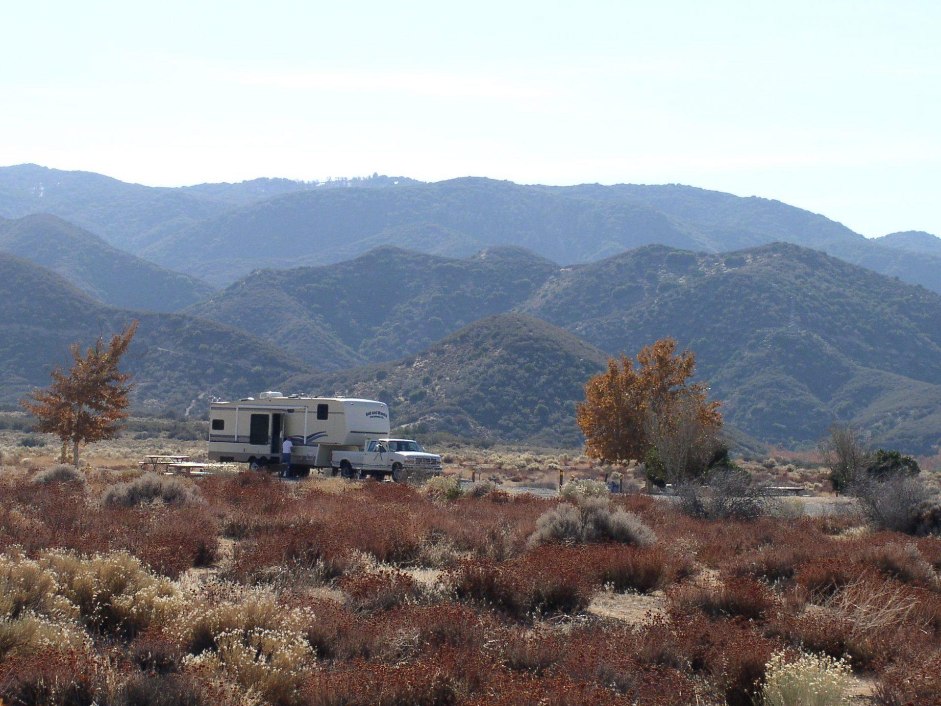 Mojave River Forks Camping