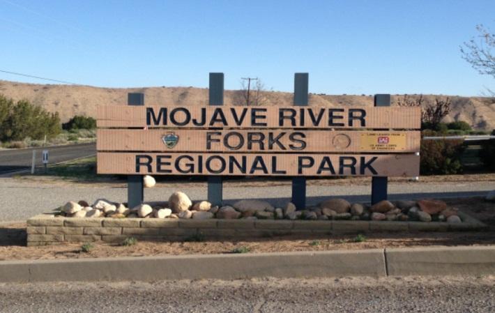 Mojave River Forks Sign