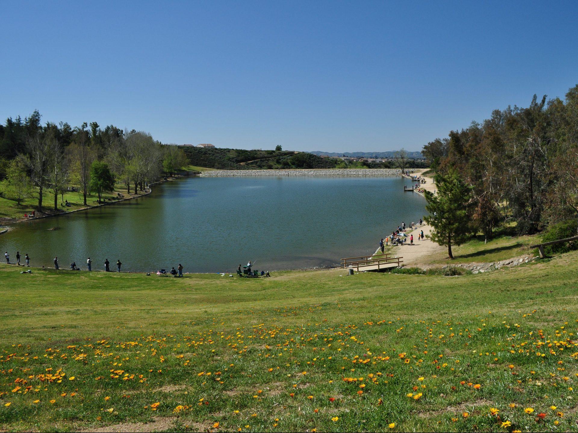 lake shot at Yucaipa