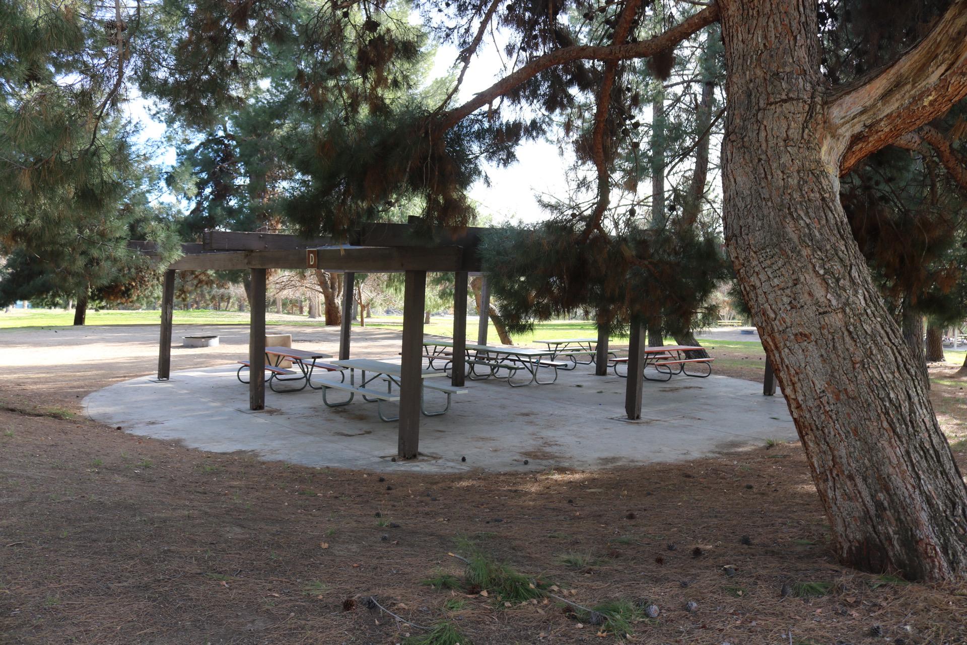 Yucaipa picnic shelters
