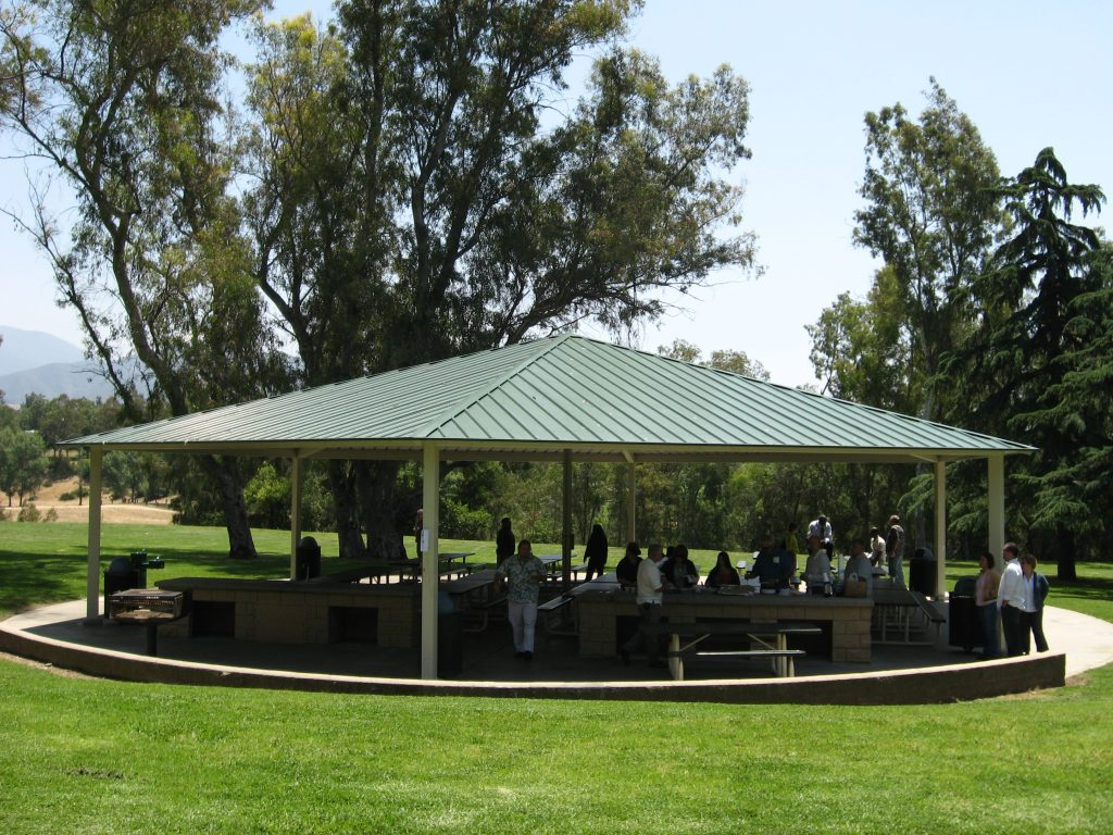 Grill and Shelter at park