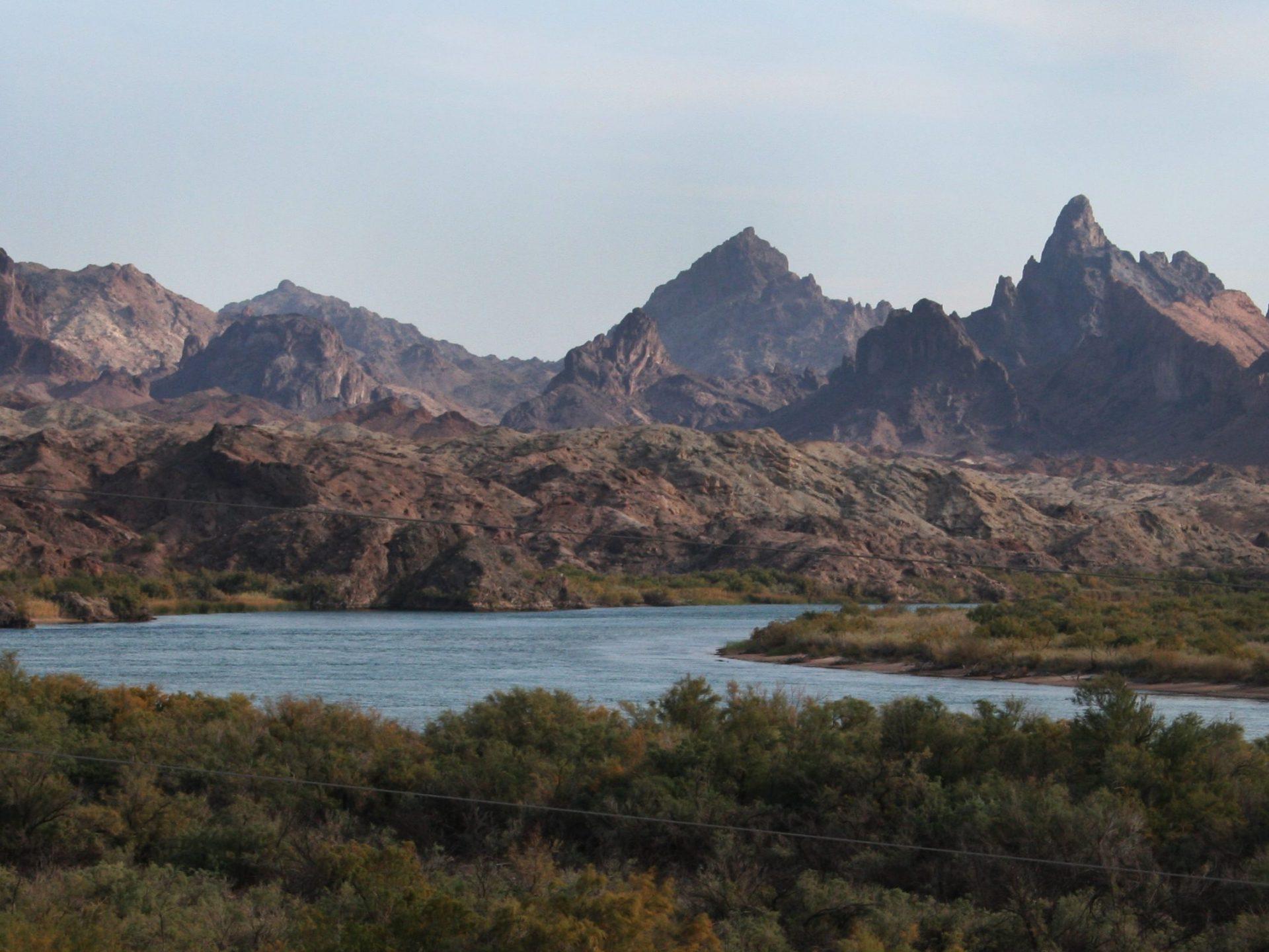 Landscape shot of a river