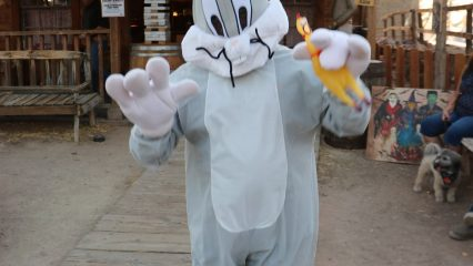 Easter Bunny at Calico Ghost Town