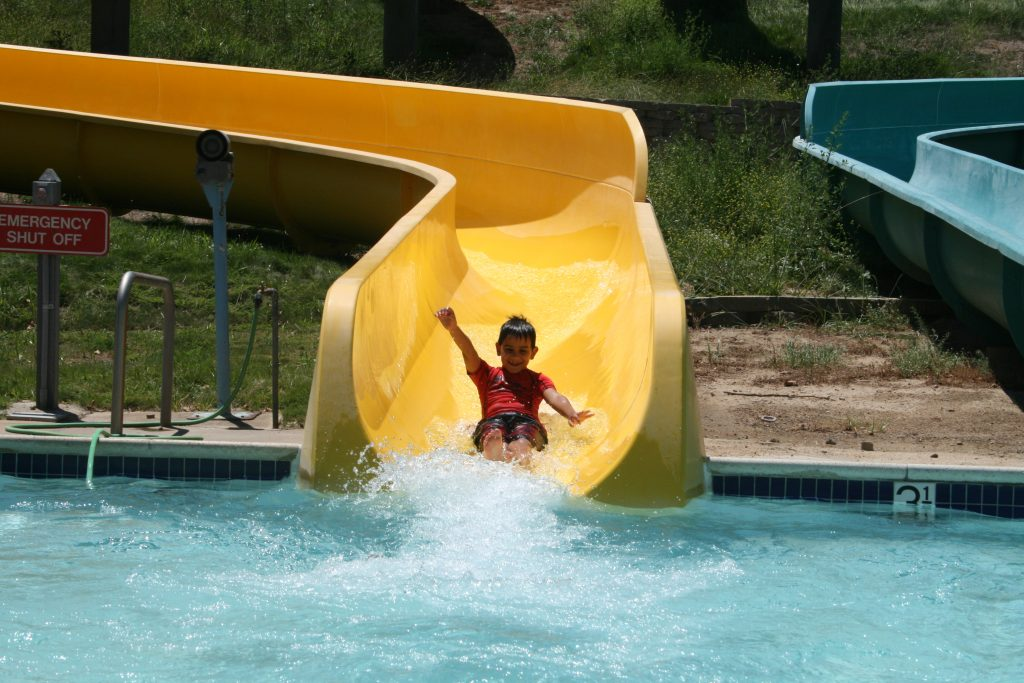 Glen Helen Water Slide