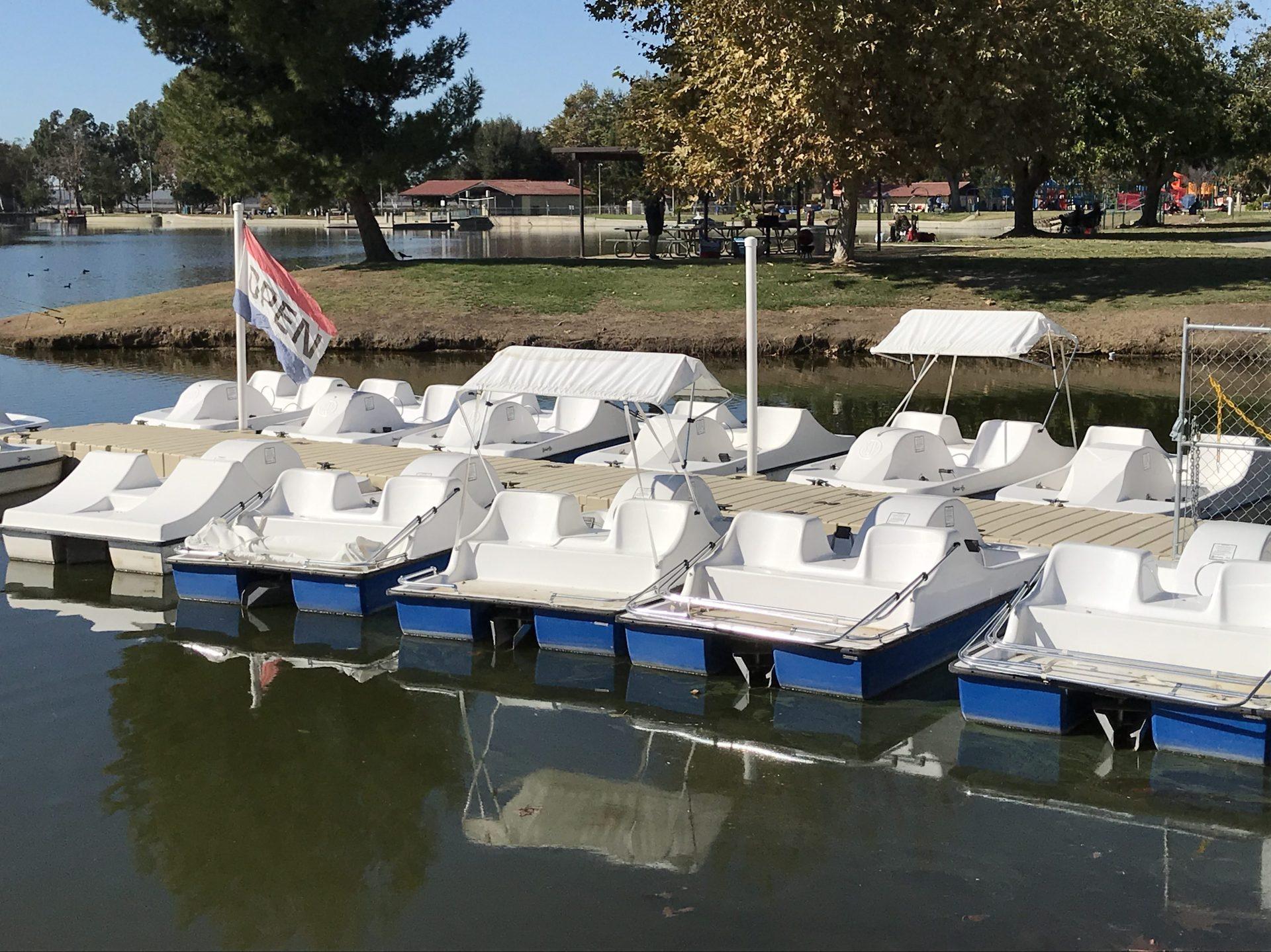 Peddle Boats at Guasti Park