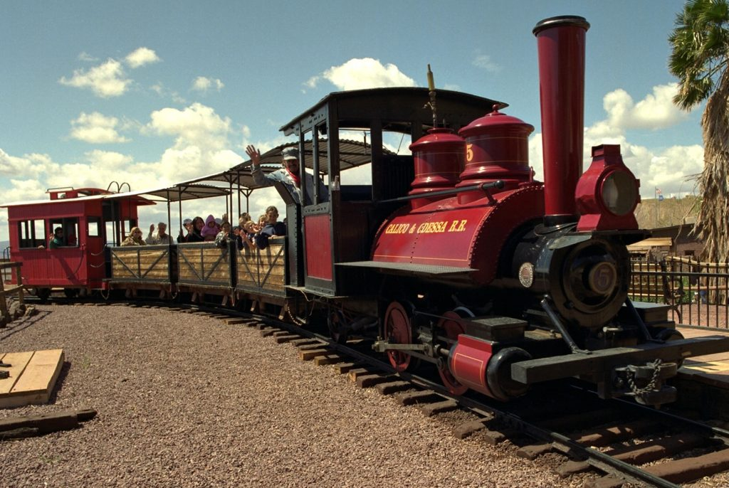 Train at Calico