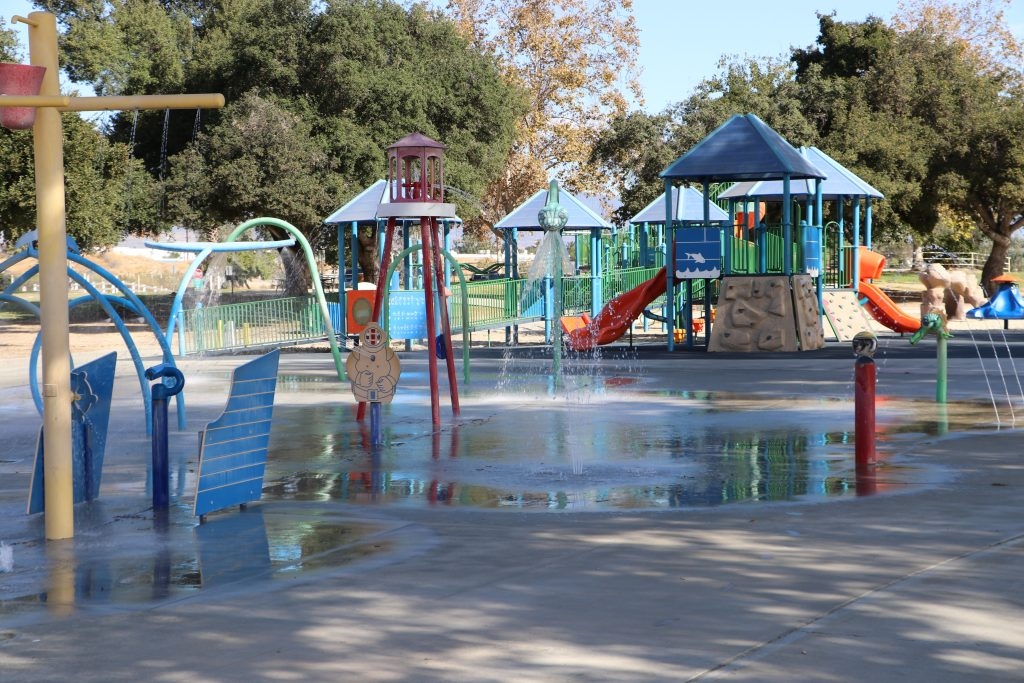 Photo of the playground at Guasti
