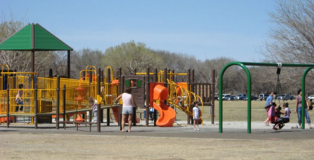 Photo of the Playground at Mojave Narrows