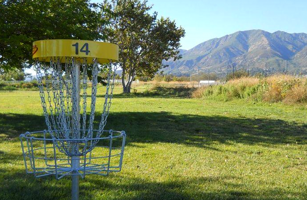 Yucaipa Disc Golf goal