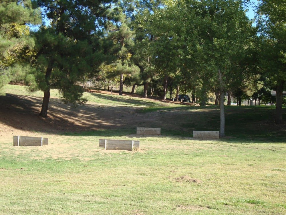 Photo of the Horseshoe pits at Yucaipa