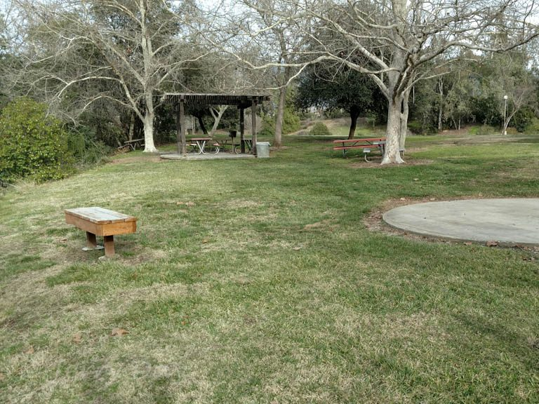 Small Picnic shelter at Yucaipa