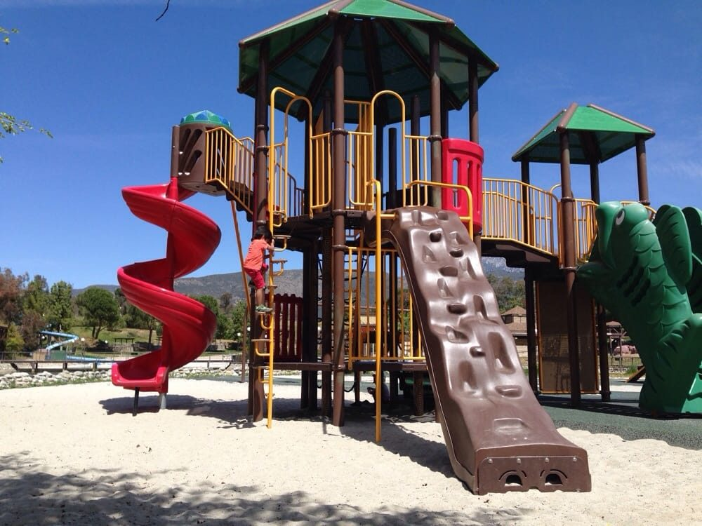 Photo of the playground at Yucaipa