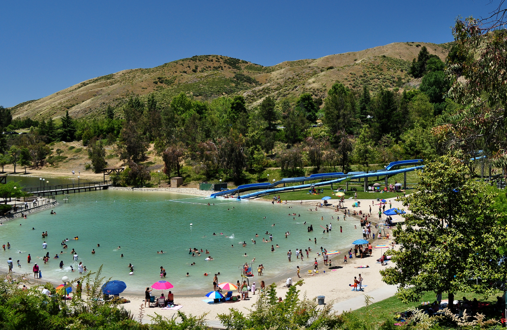Swimming pool at Yucaipa